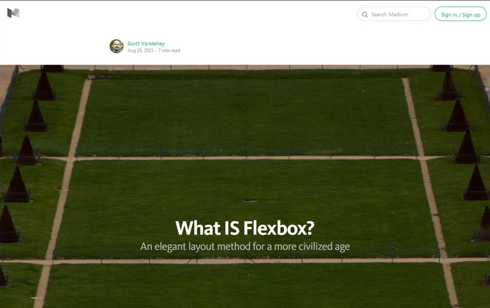 What IS Flexbox