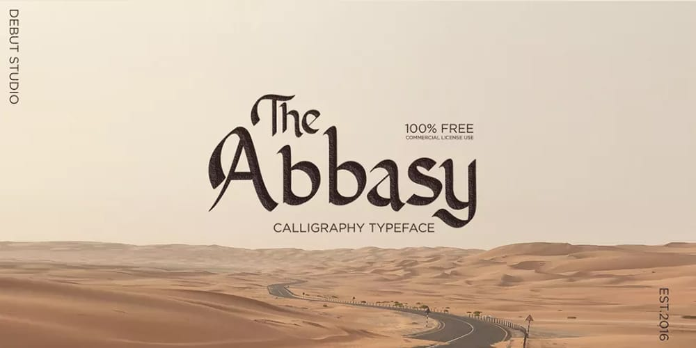 Abbasy Calligraphy Font