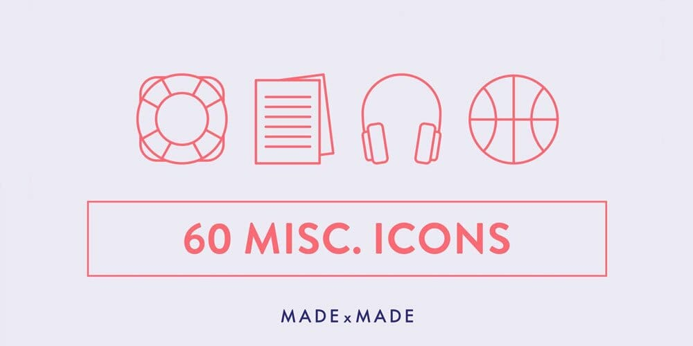 Free Miscellaneous Line Icons
