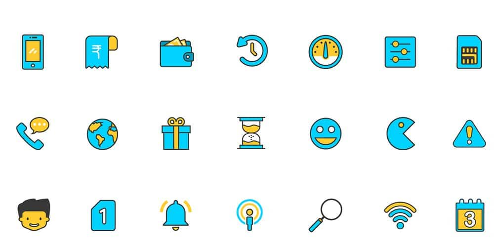 Free Modern Sketch Icons