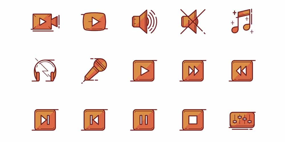 Free Multimedia Icons