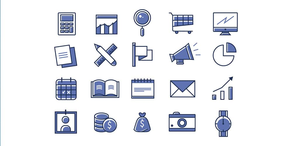 Free Office Linear Icons