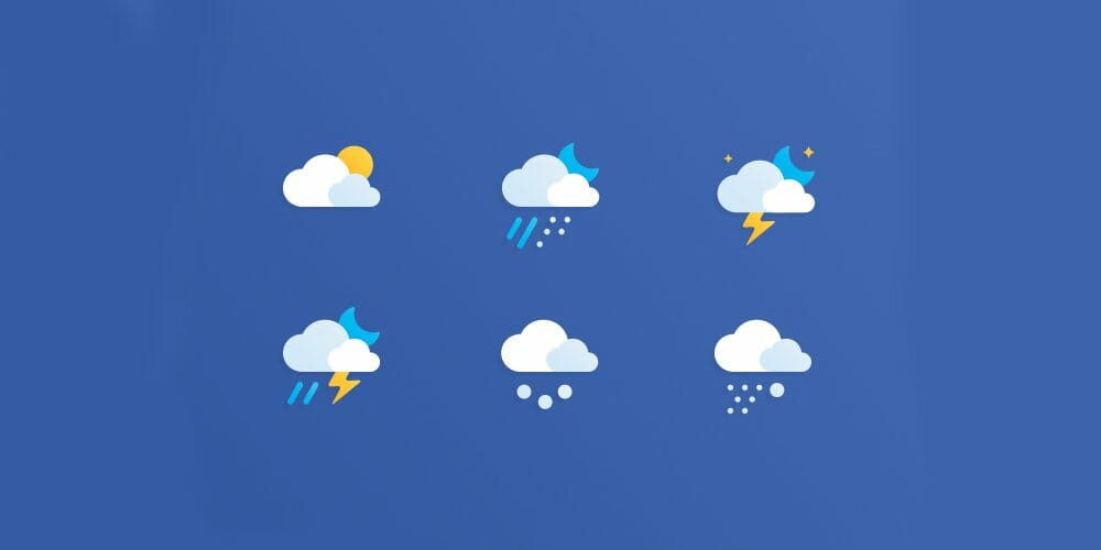 Free-Weather-Icons