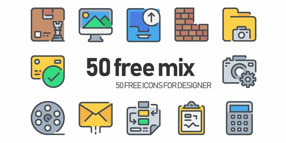 Free Simple Line Icons