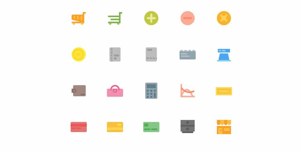 Material Design Flat Icons