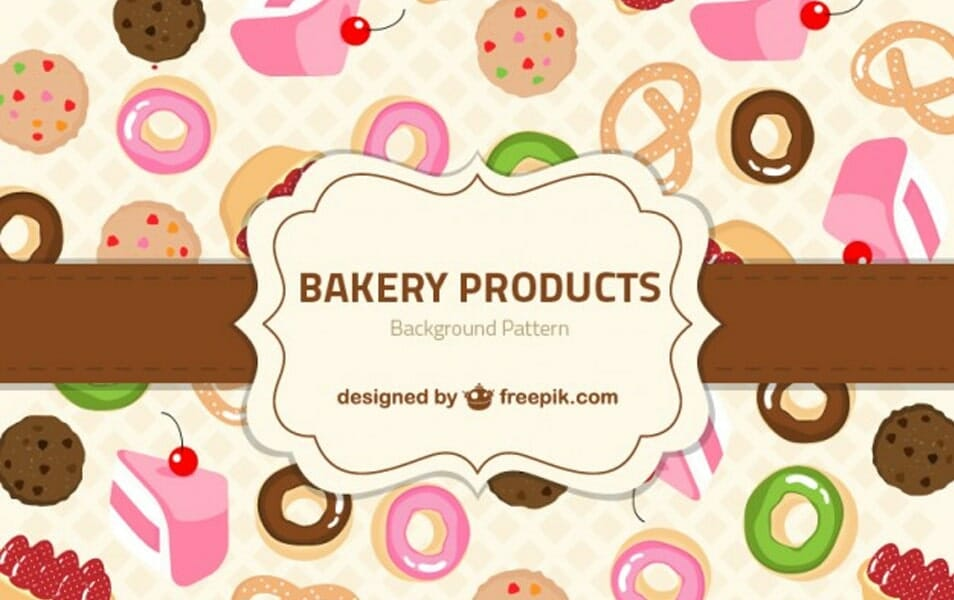 Bakery Products Pattern