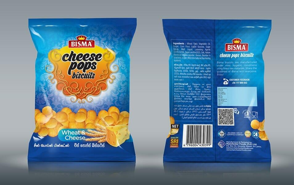 Bismah Cheese Pops Re-Design Free Mockup