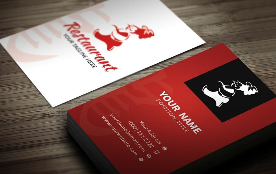 CHINESE BUSINESS CARD TEMPLATE