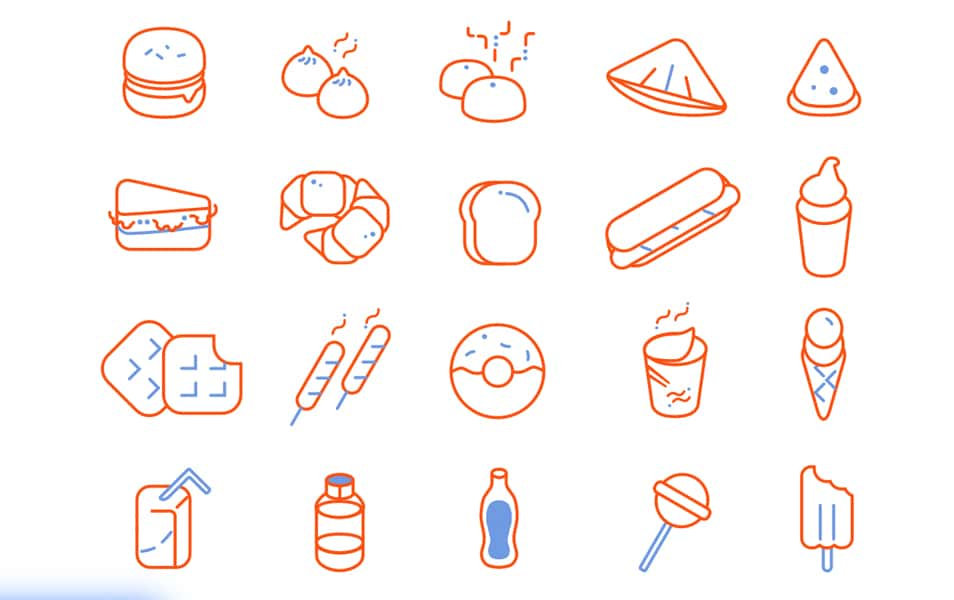 Food Icon Freebie
