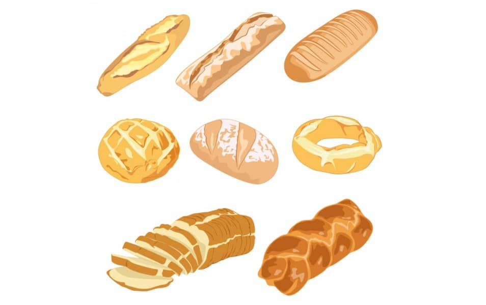 Illustrated Delicious Bread
