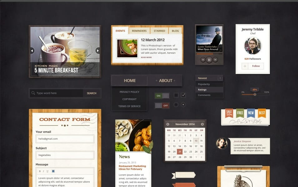 Spicy Treats UI Kit