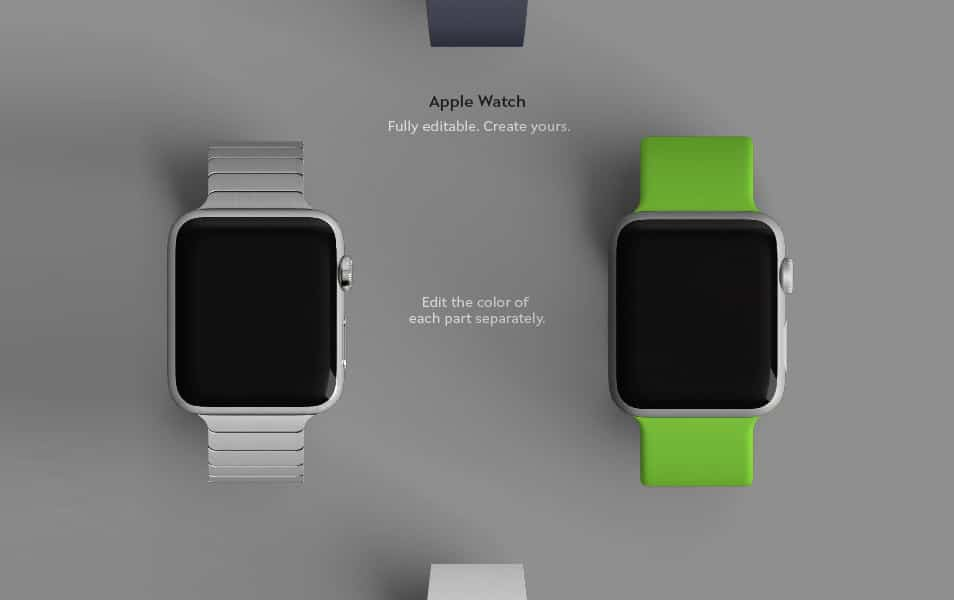 Apple Watch Mockup PSD