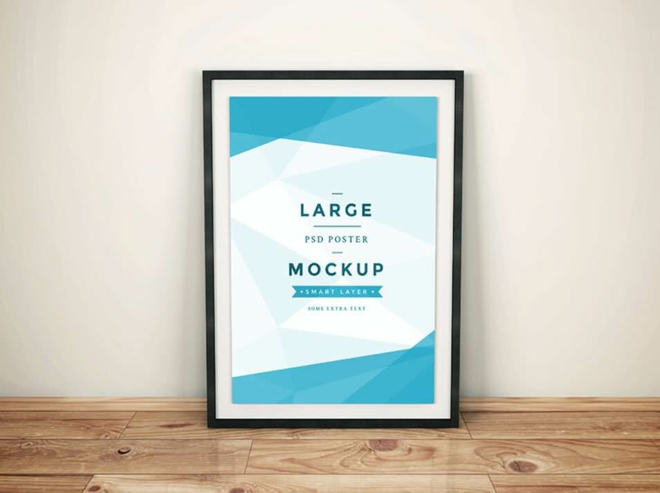 Artwork Frame PSD Mockup Vol.4