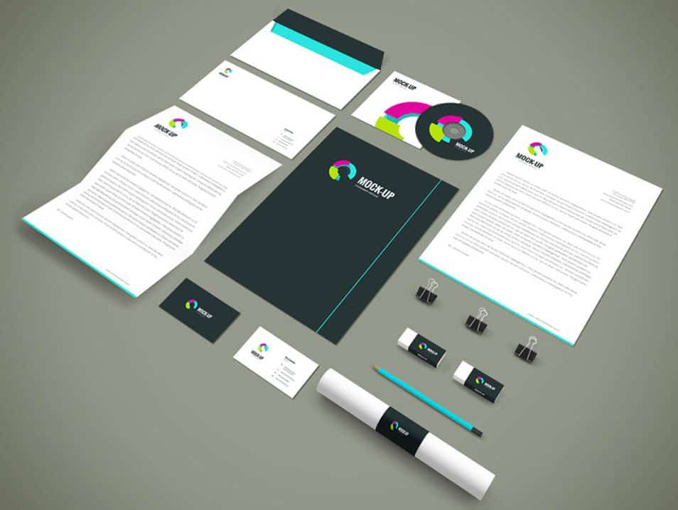 Branding-Stationery Mockup Vol.3