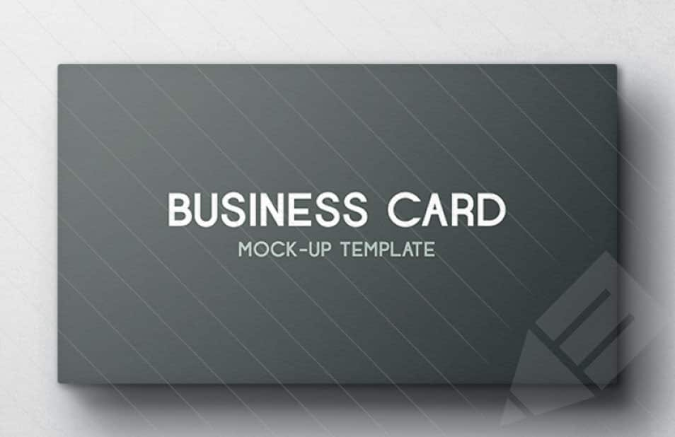 Business Card Mockup – Vol 4