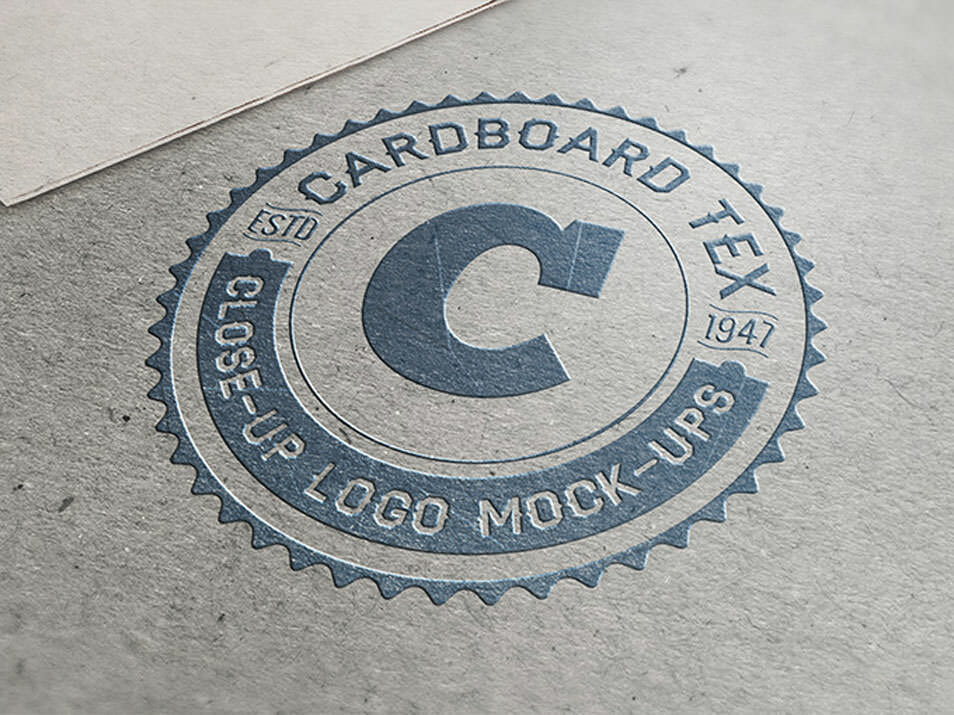 Close-Up Logo Mock-ups