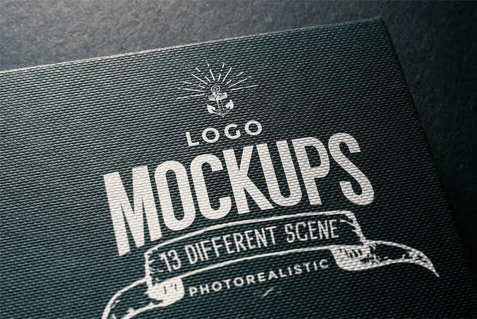 Free Logo Mock Up 01