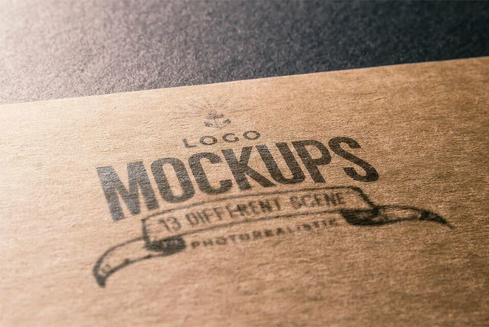 Free Logo Mock Up 10