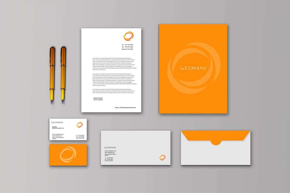 Free Stationary Mockup for Designers