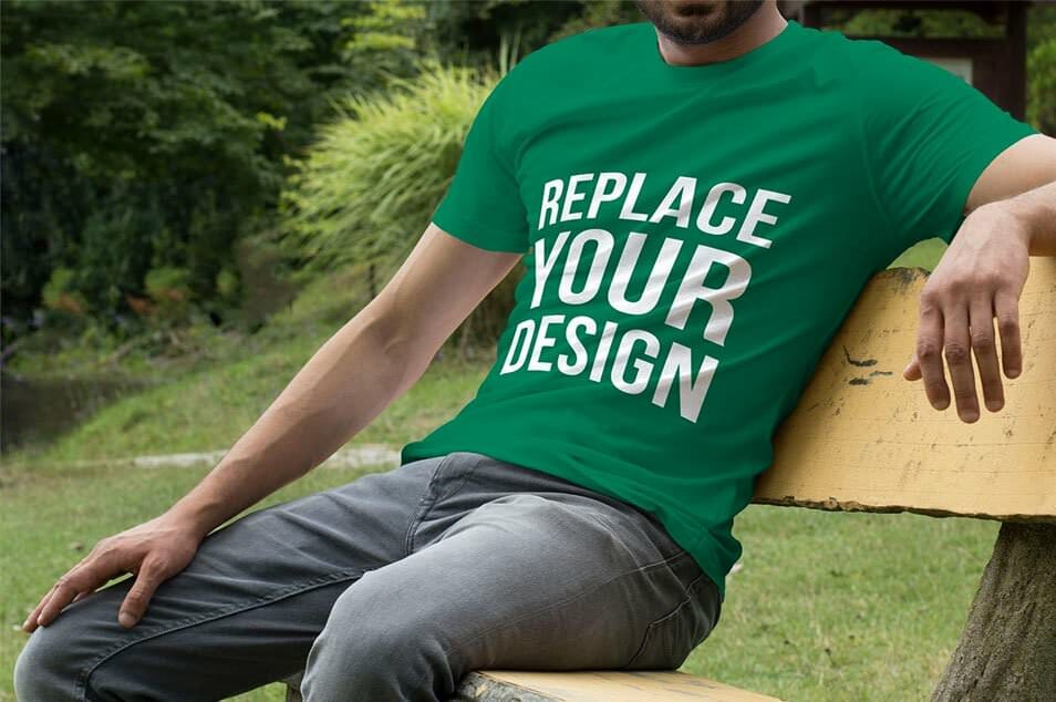 Free T-Shirt Mock Up 01