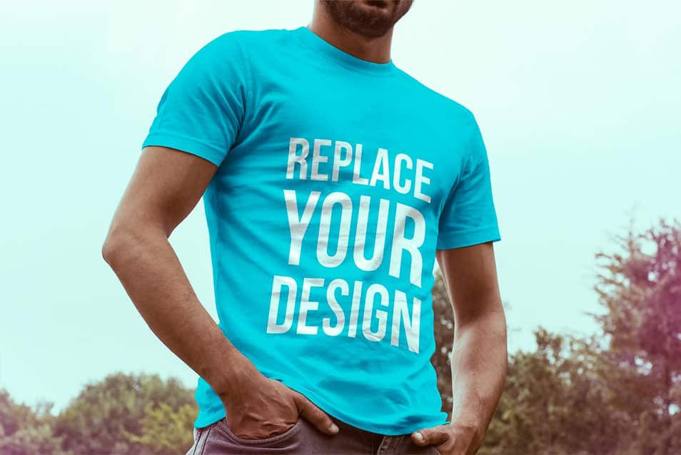 Free T-Shirt Mock Up 03