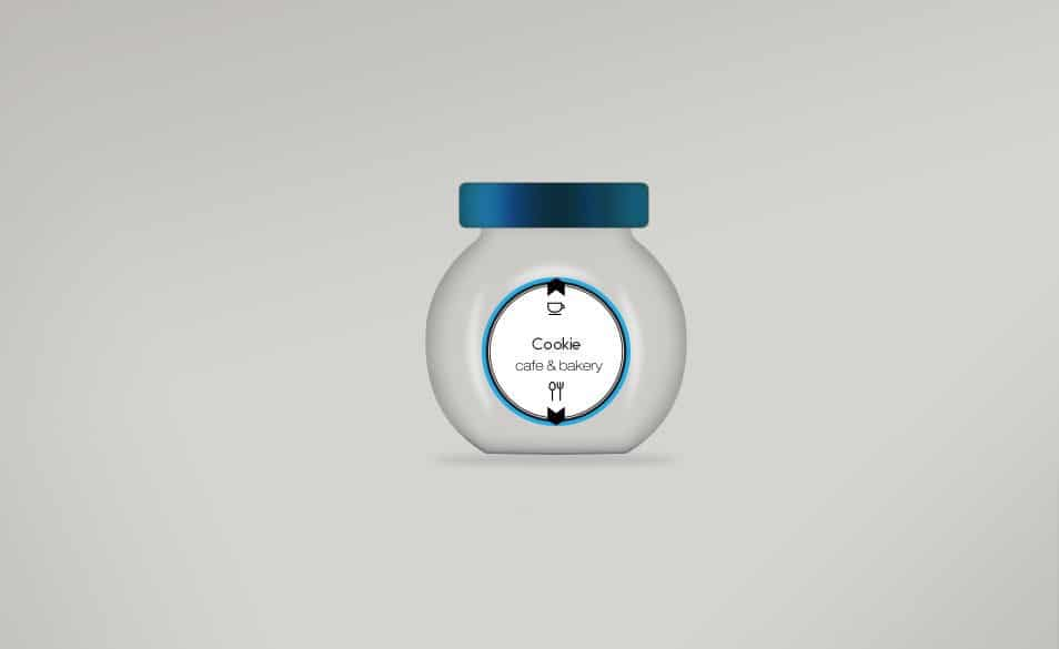 Glass Jar Mockup