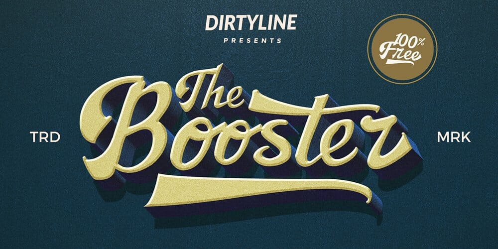 Booster Typeface