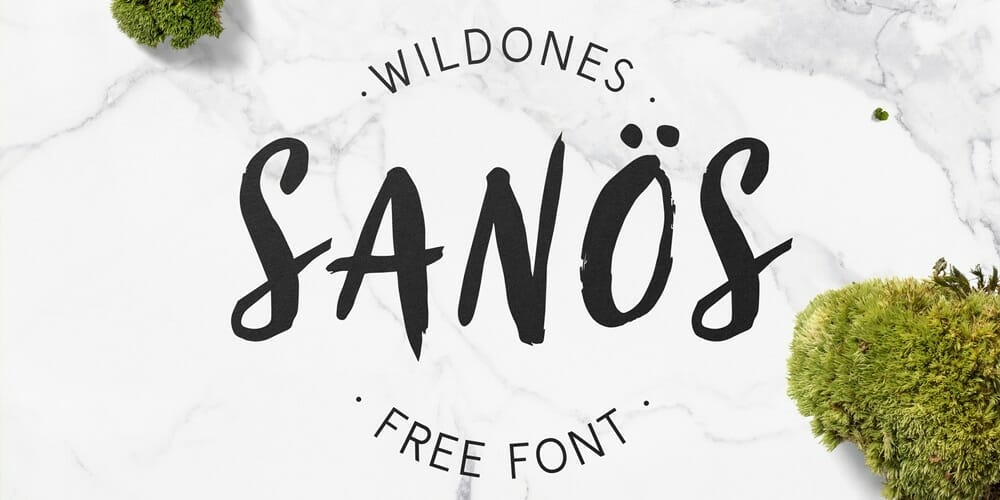 Sanos Brush Script Font