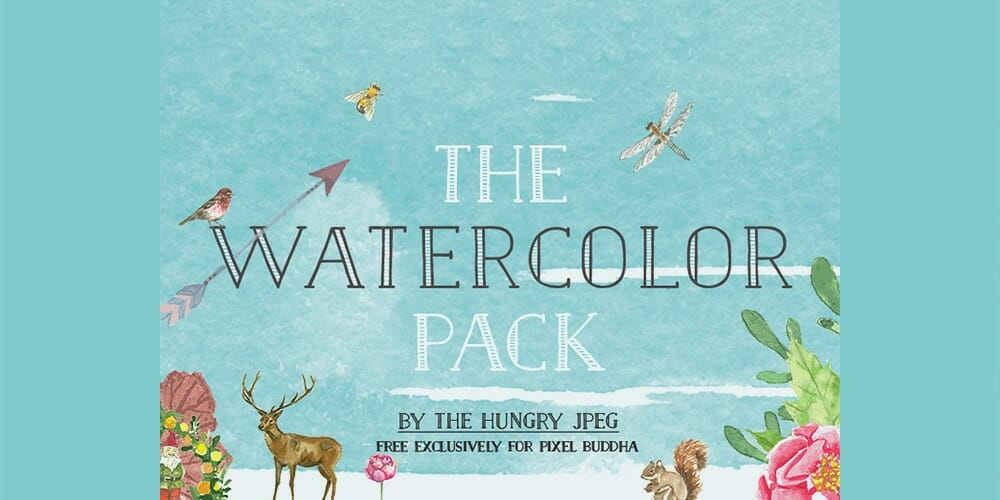 Free Watercolor Pack