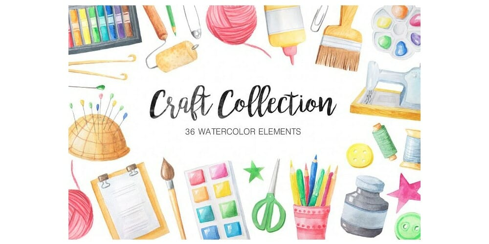 Watercolor Craft Collection