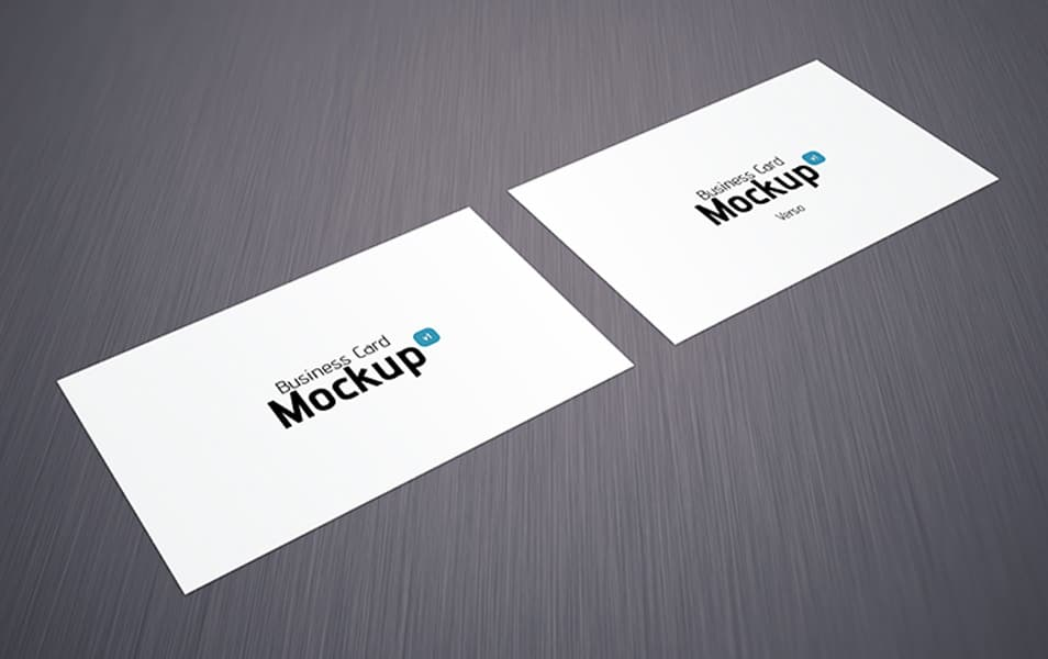 Business card mockup 05