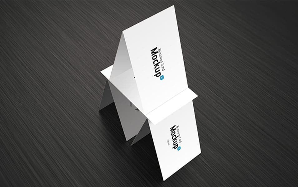 Business card mockup 06