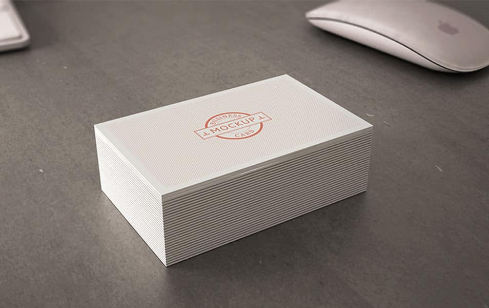 Business card mockup 12