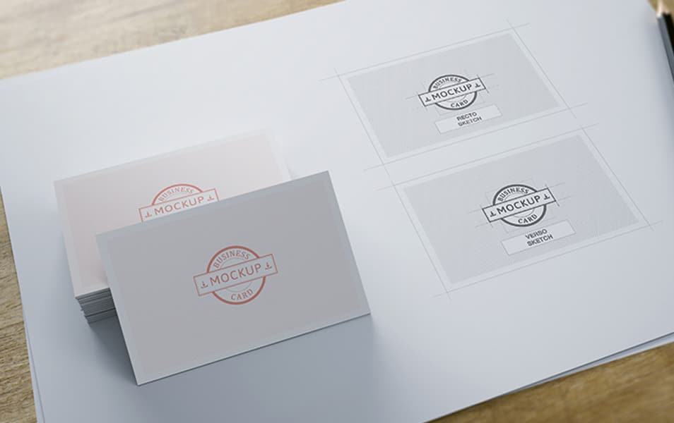 Business card mockup 13