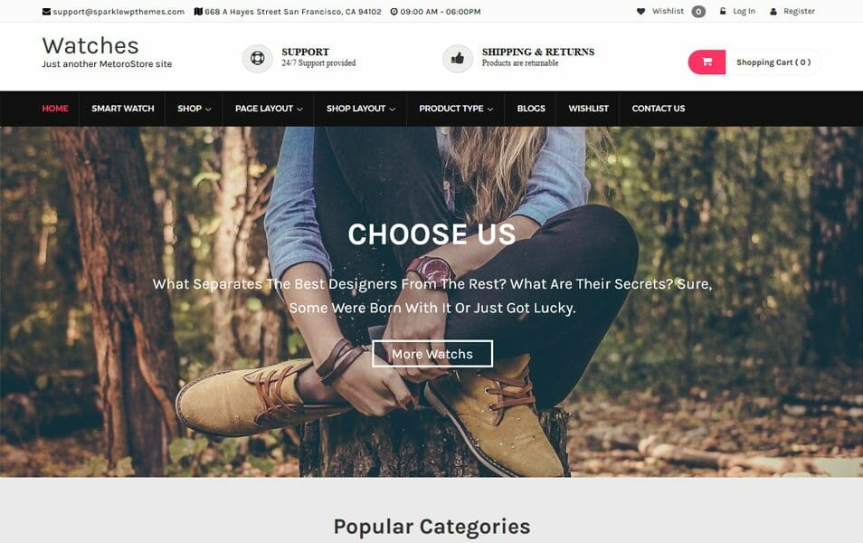 MetroStore Responsive WordPress Theme