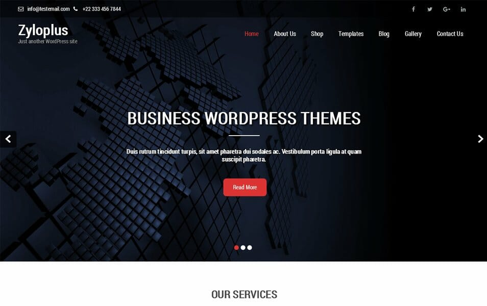 Zyloplus Responsive WordPress Theme
