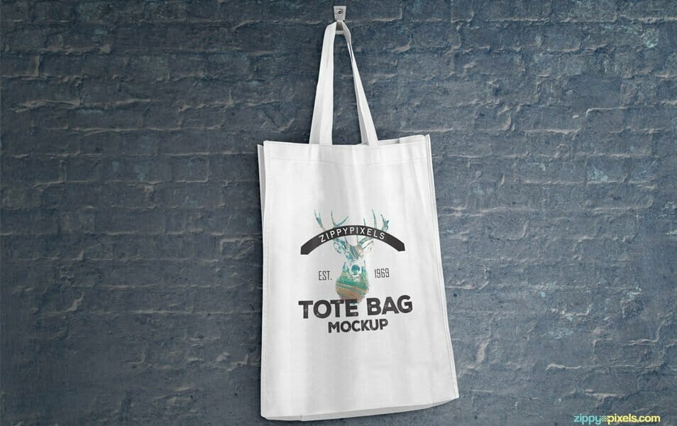 2 Free Tote Bag Mockups Volume 1