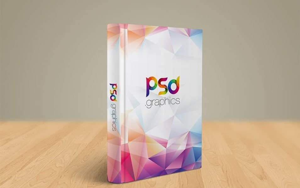 Book Cover Mockup Free PSD