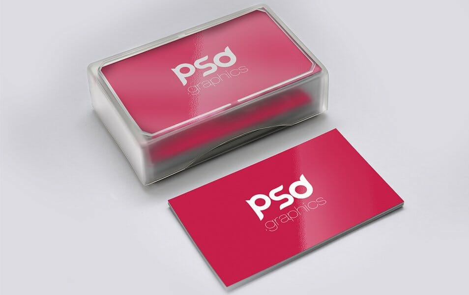 Business Card Mockup Free PSD Graphics