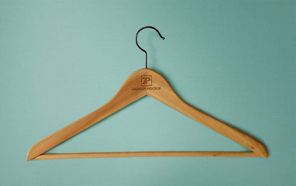 Free High-Quality Clothing Hanger Mockups