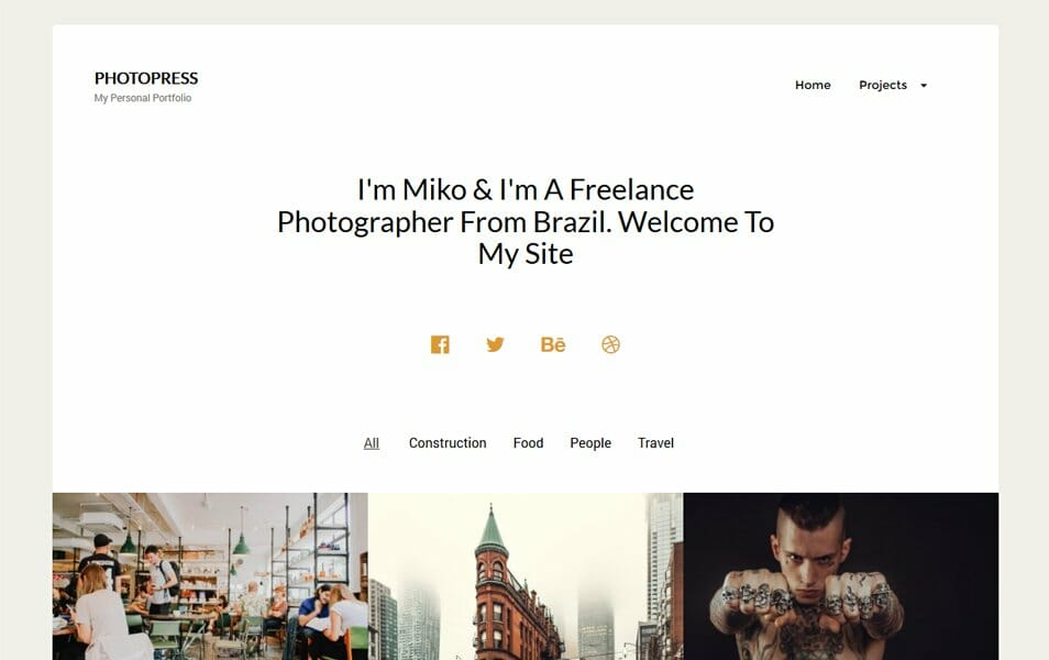 150+ Best Free Wordpress Portfolio Themes 2018 » CSS Author