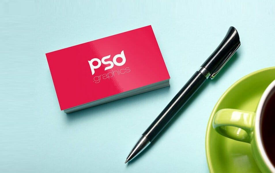 Professional Business Card Mockup PSD