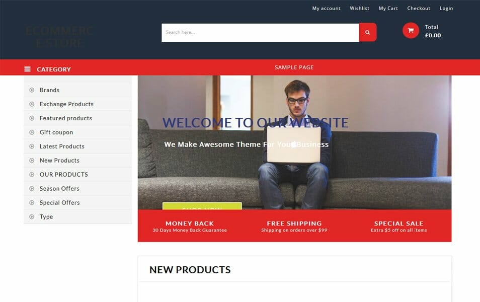 100+ Free eCommerce WordPress Themes 2018 » CSS Author