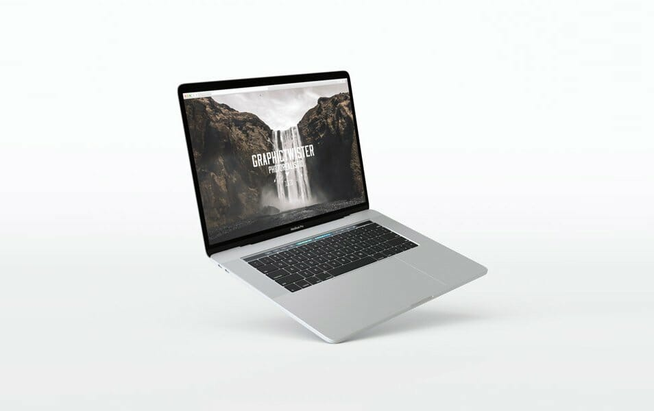 Floating MacBook