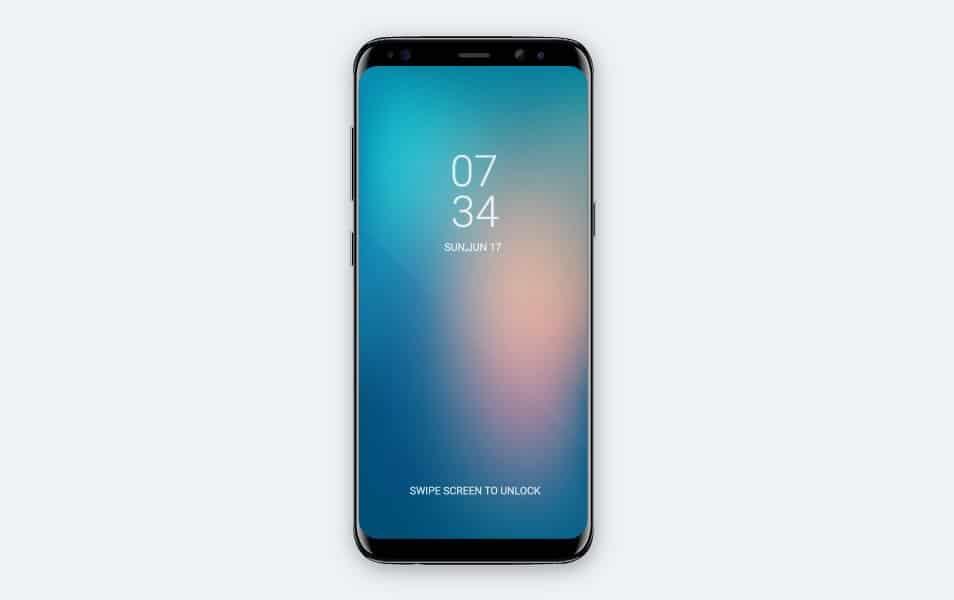 Free Samsung Galaxy S8 Vector