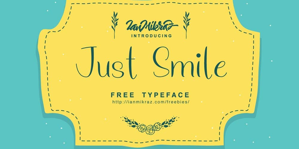 Just Smile Font