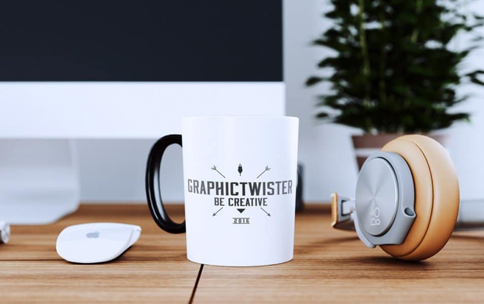 New Cup Mockup