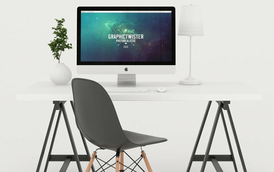 Photo Studio Workspace Mockup