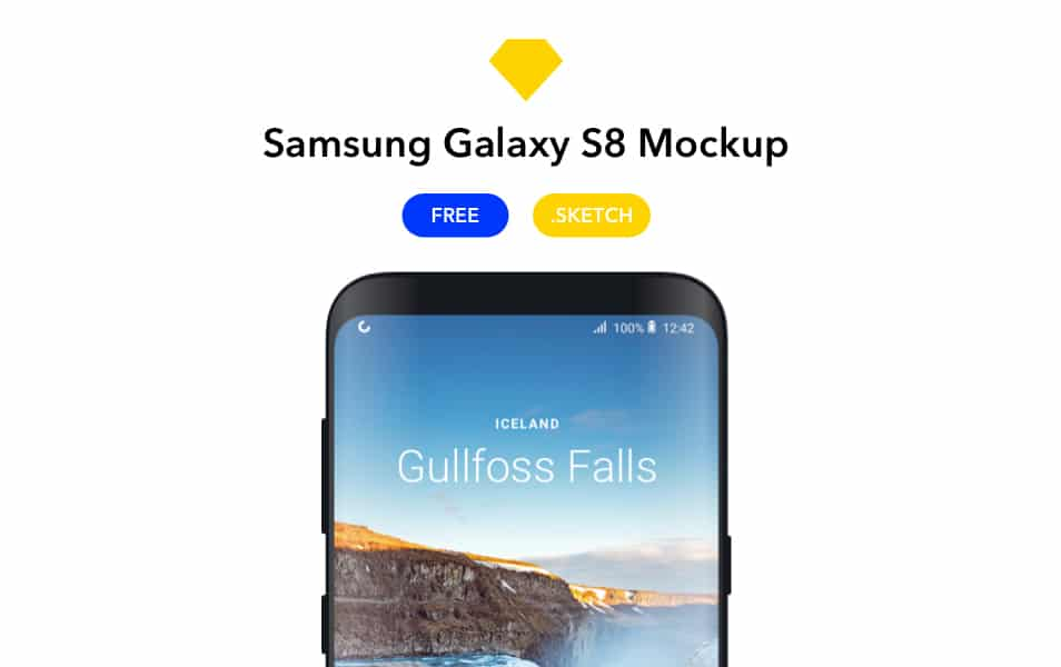 50 Best Samsung Galaxy S8 Mockup Templates Css Author