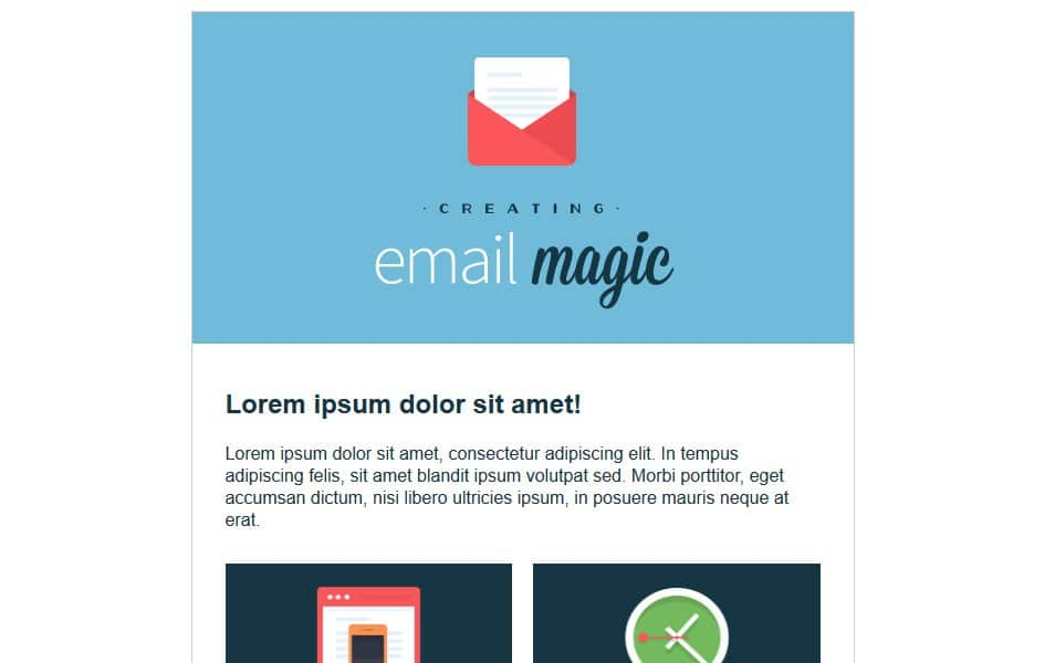Responsive HTML Email Newsletter Templates CSS Author - Build an html email template from scratch